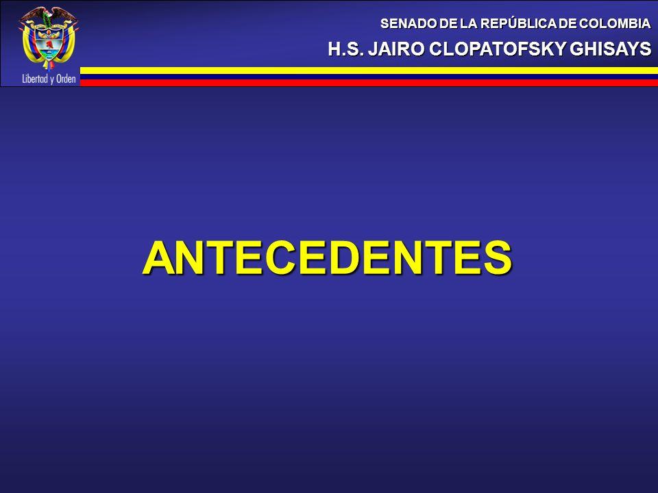 ANTECEDENTES H.S. JAIRO CLOPATOFSKY GHISAYS