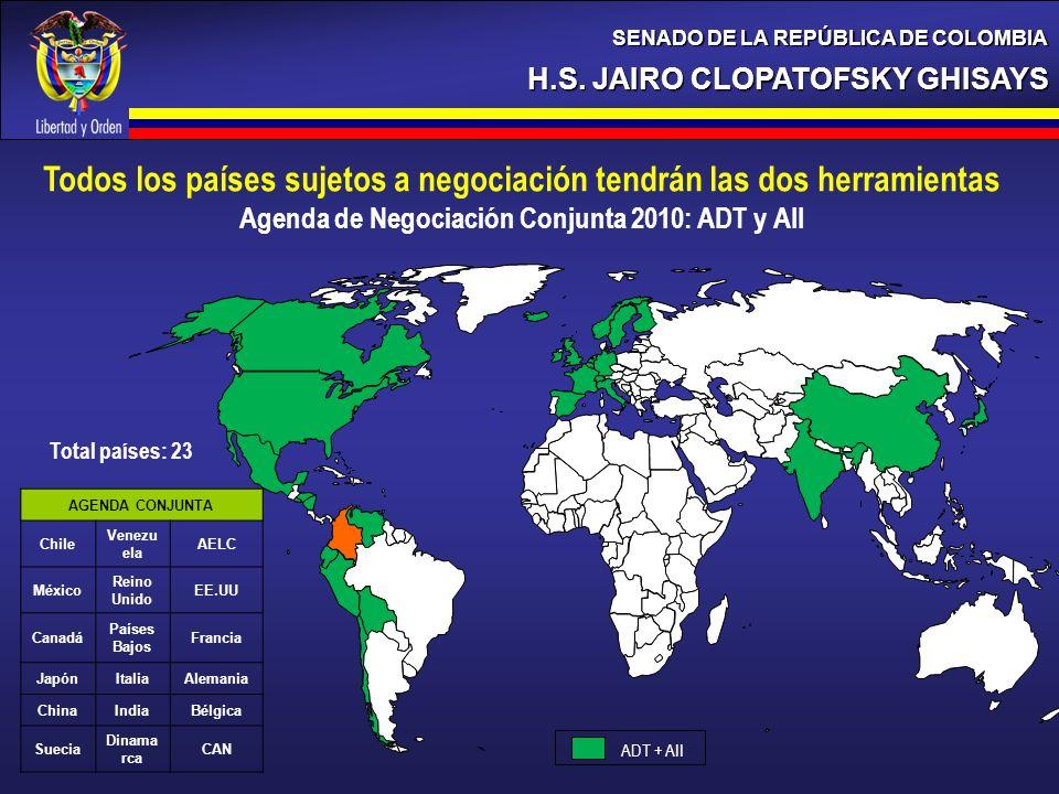 Todos los países sujetos a negociación tendrán las dos herramientas