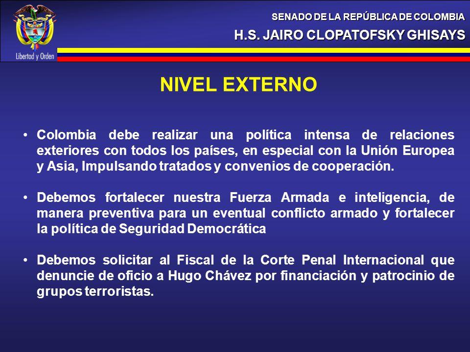 NIVEL EXTERNO H.S. JAIRO CLOPATOFSKY GHISAYS