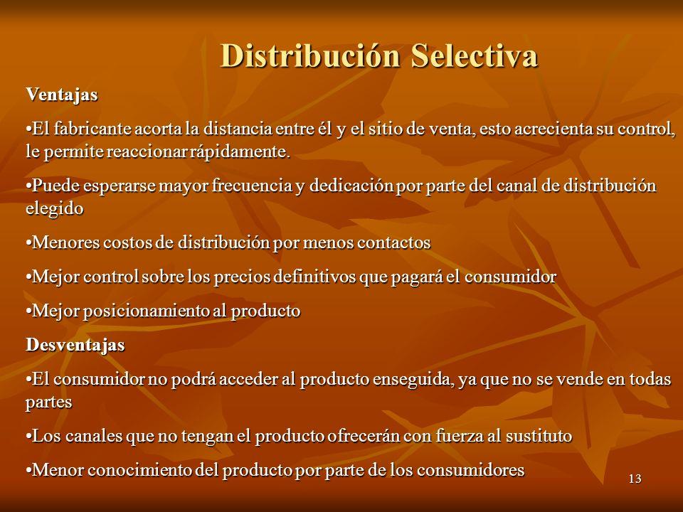Distribución Selectiva