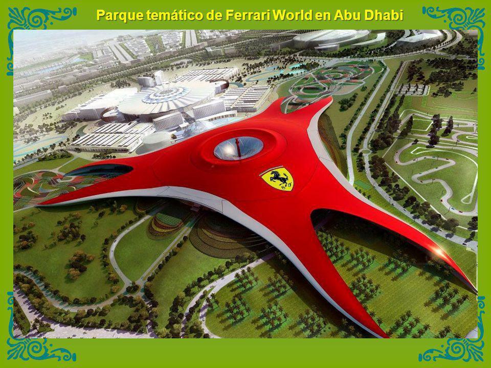 Parque temático de Ferrari World en Abu Dhabi