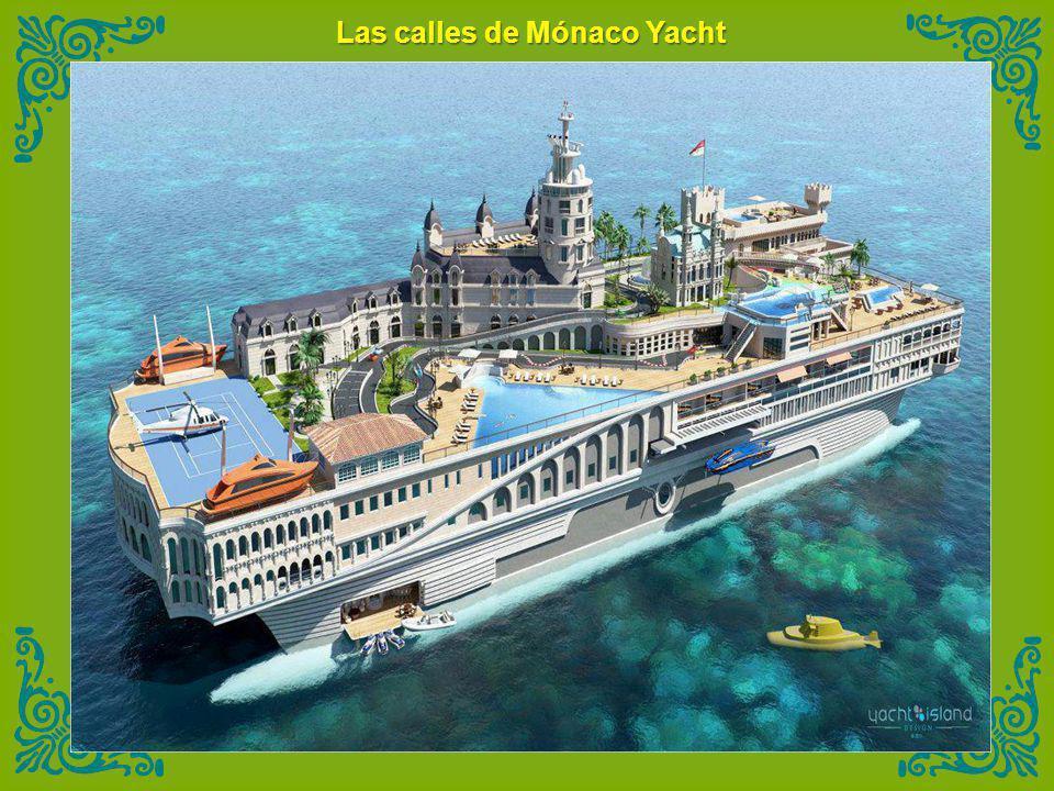 Las calles de Mónaco Yacht