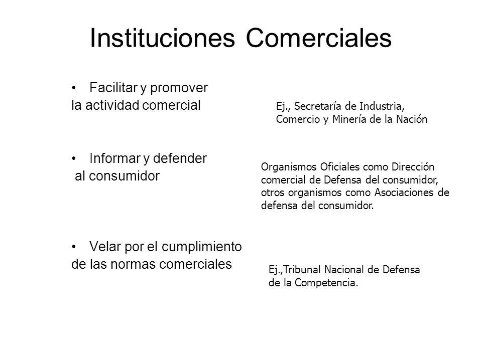 Instituciones Comerciales