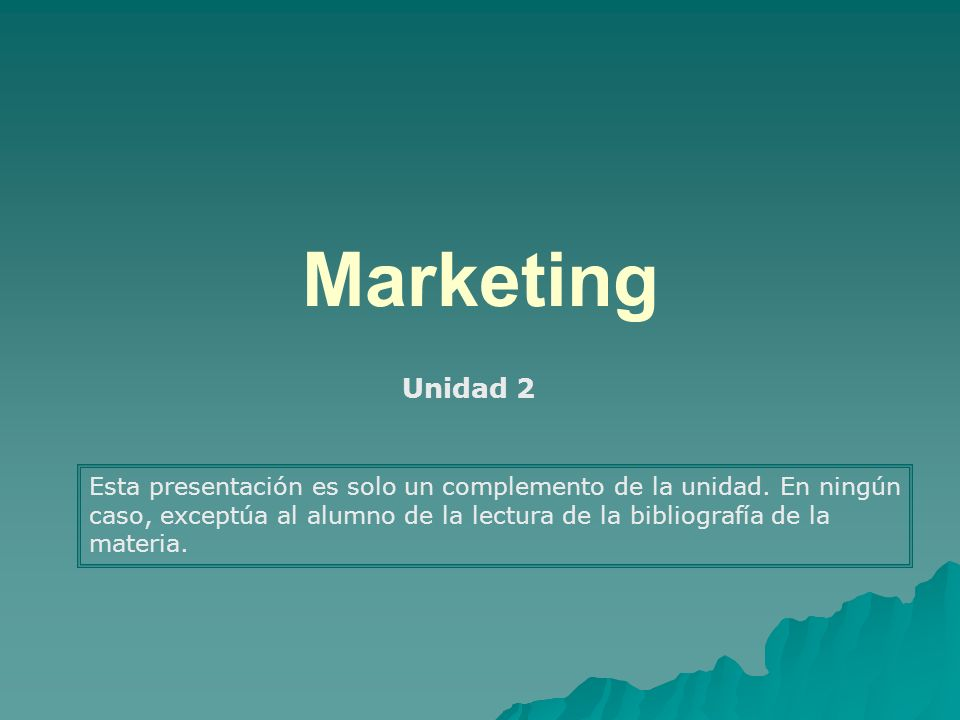 MarketingUnidad 2.