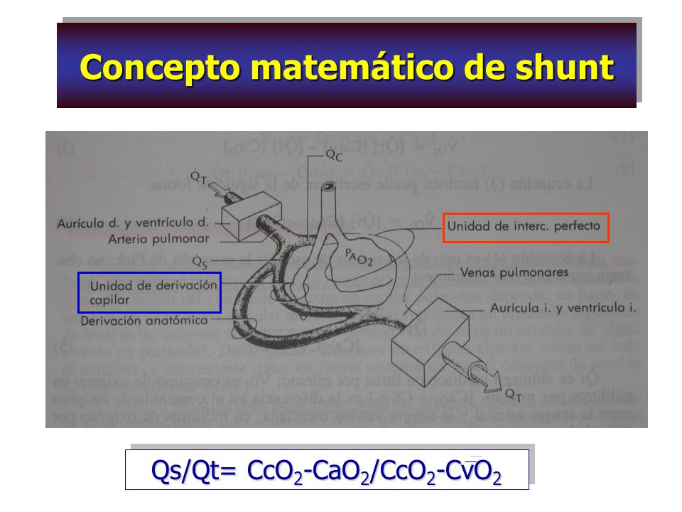 Concepto matemático de shunt