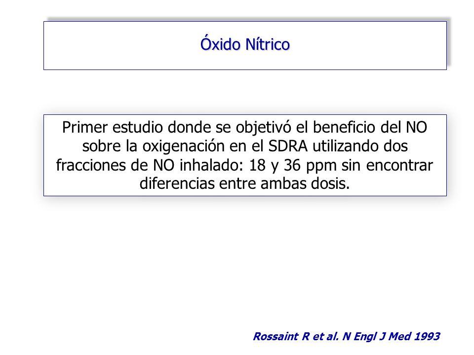 Rossaint R et al. N Engl J Med 1993