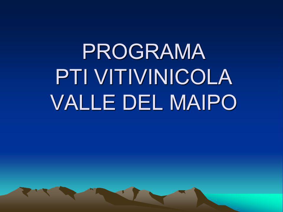 PROGRAMA PTI VITIVINICOLA VALLE DEL MAIPO