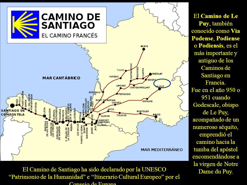 El Camino de Santiago ha sido declarado por la UNESCO