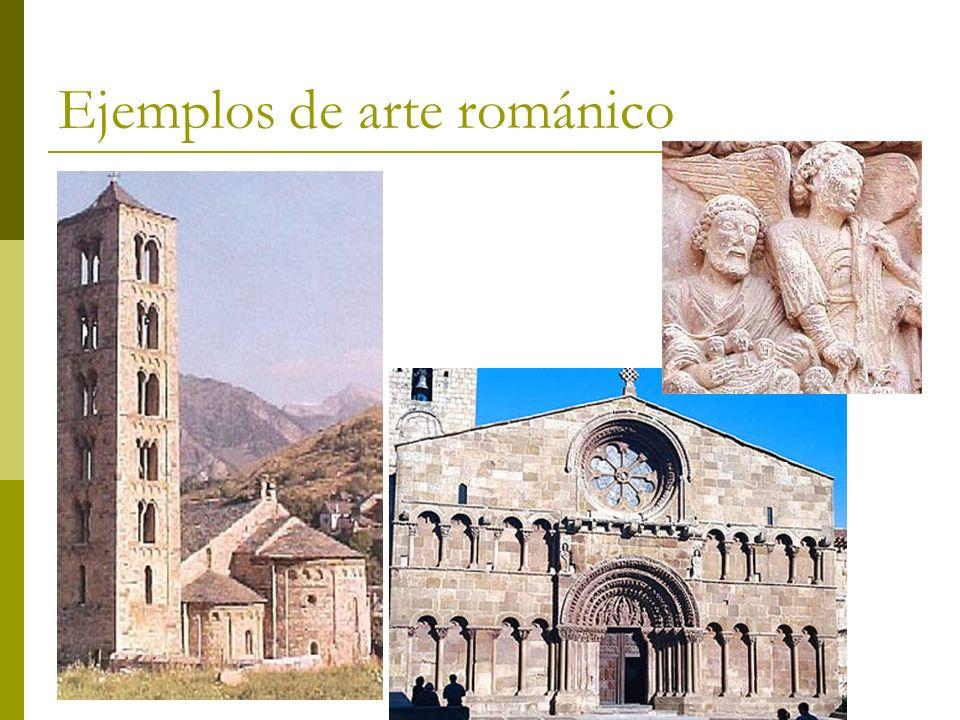 Ejemplos de arte románico