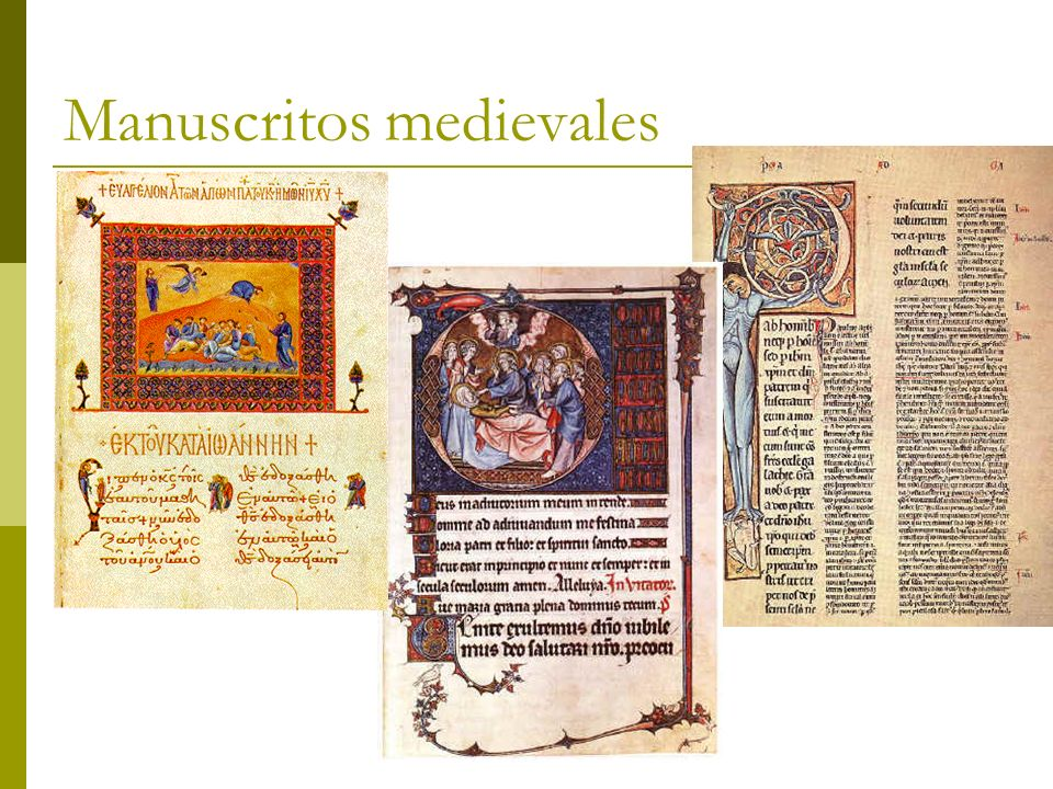 Manuscritos medievales