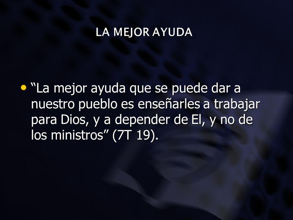 LA MEJOR AYUDA