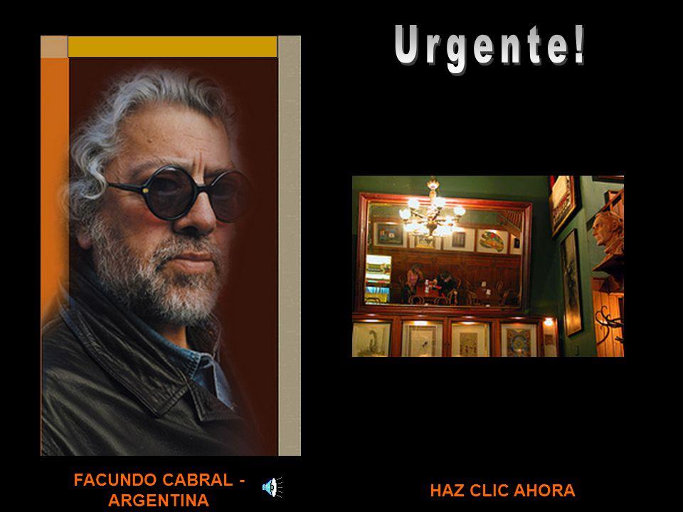 FACUNDO CABRAL - ARGENTINA