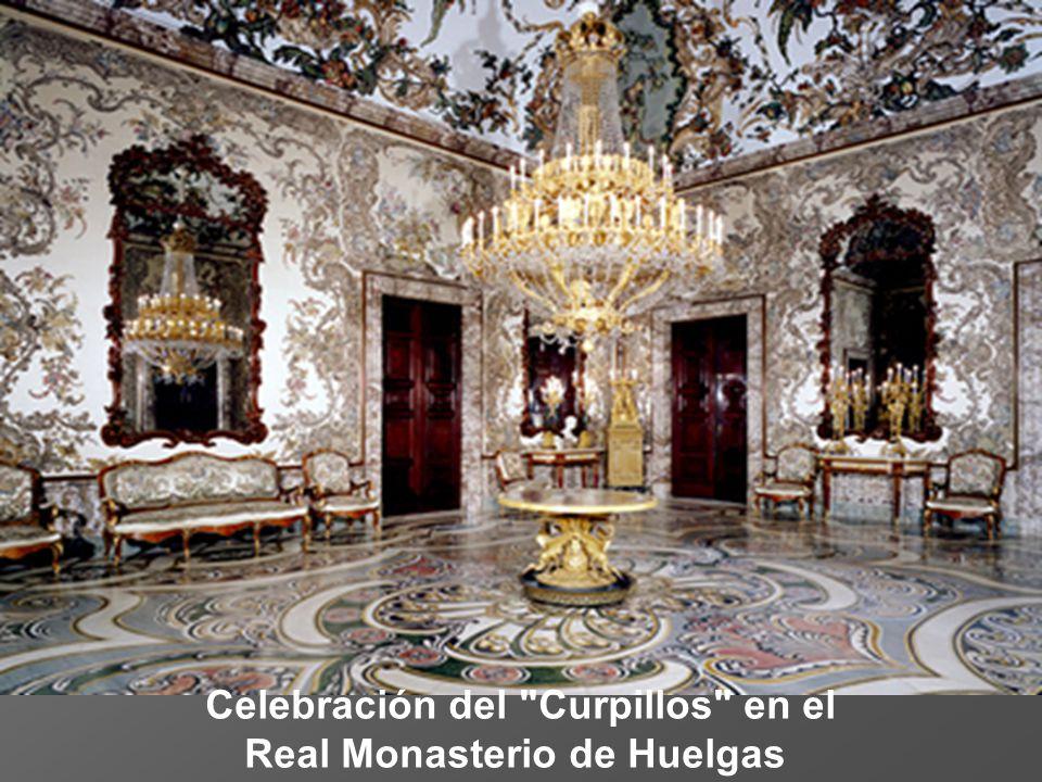 Celebración del Curpillos en el Real Monasterio de Huelgas
