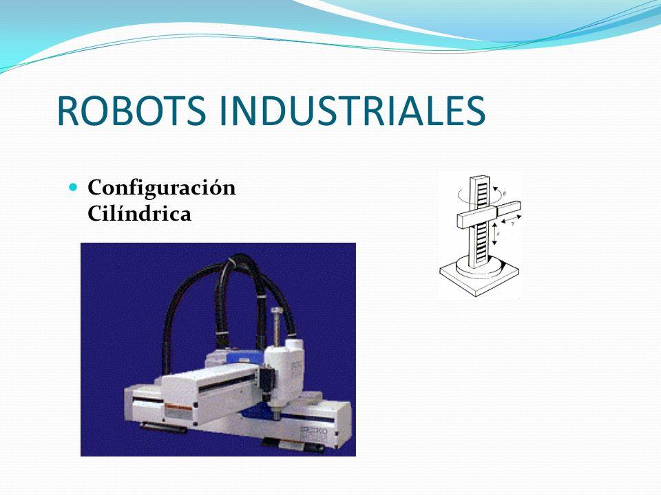 ROBOTS INDUSTRIALES Configuración Cilíndrica