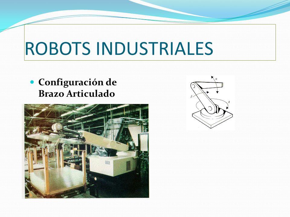 ROBOTS INDUSTRIALES Configuración de Brazo Articulado