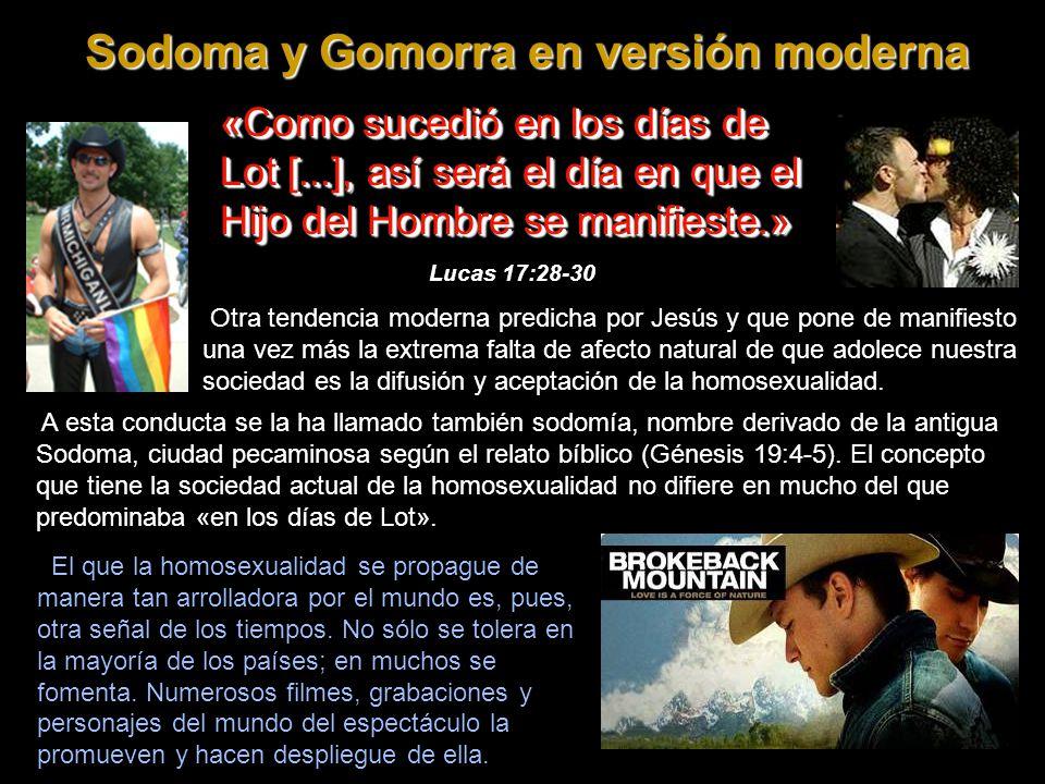 Sodoma y Gomorra en versión moderna