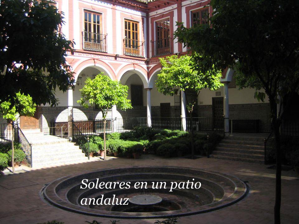 Soleares en un patio andaluz