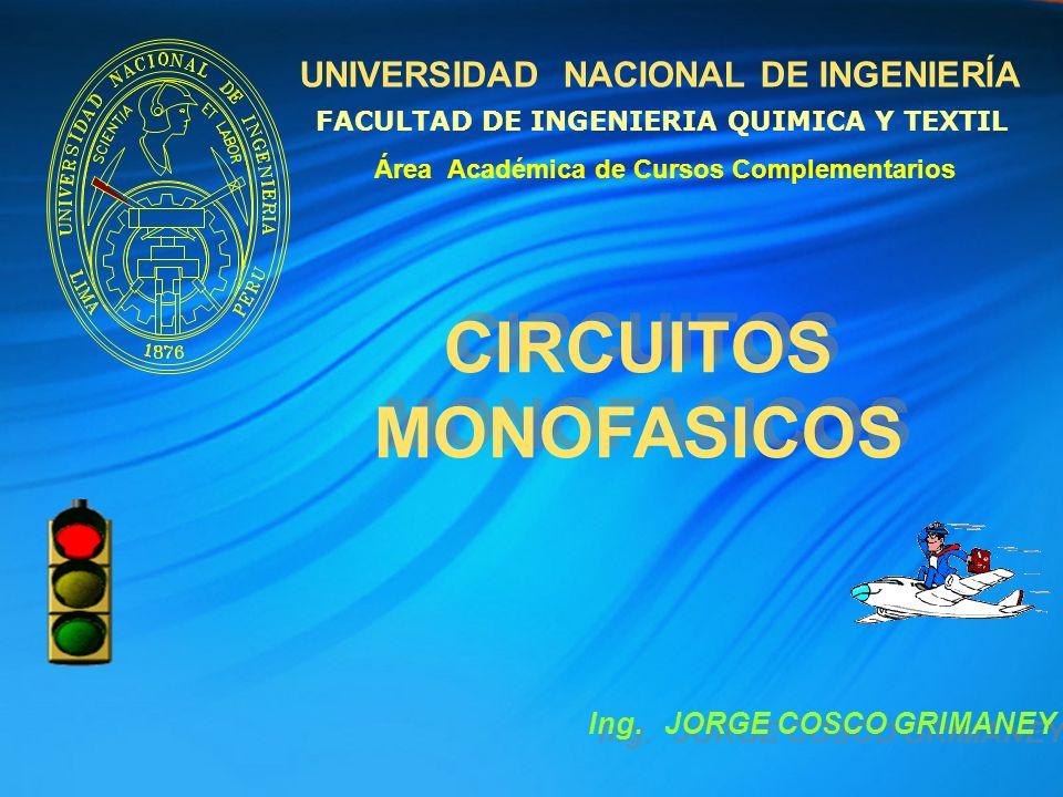 CIRCUITOS MONOFASICOS