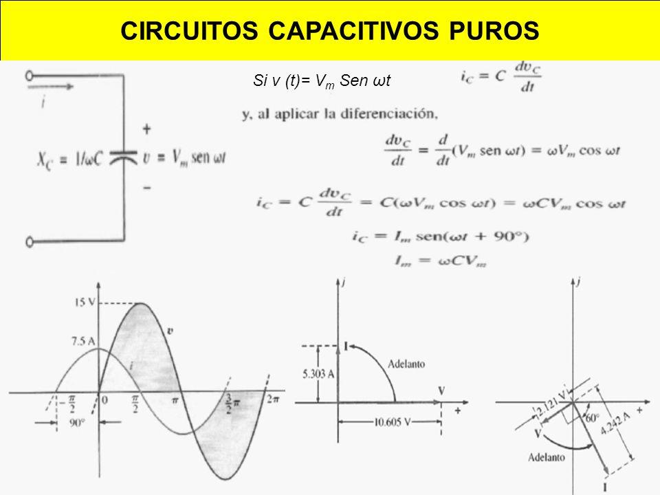 CIRCUITOS CAPACITIVOS PUROS