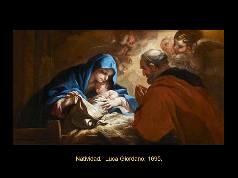 Natividad. Luca Giordano. 1695.