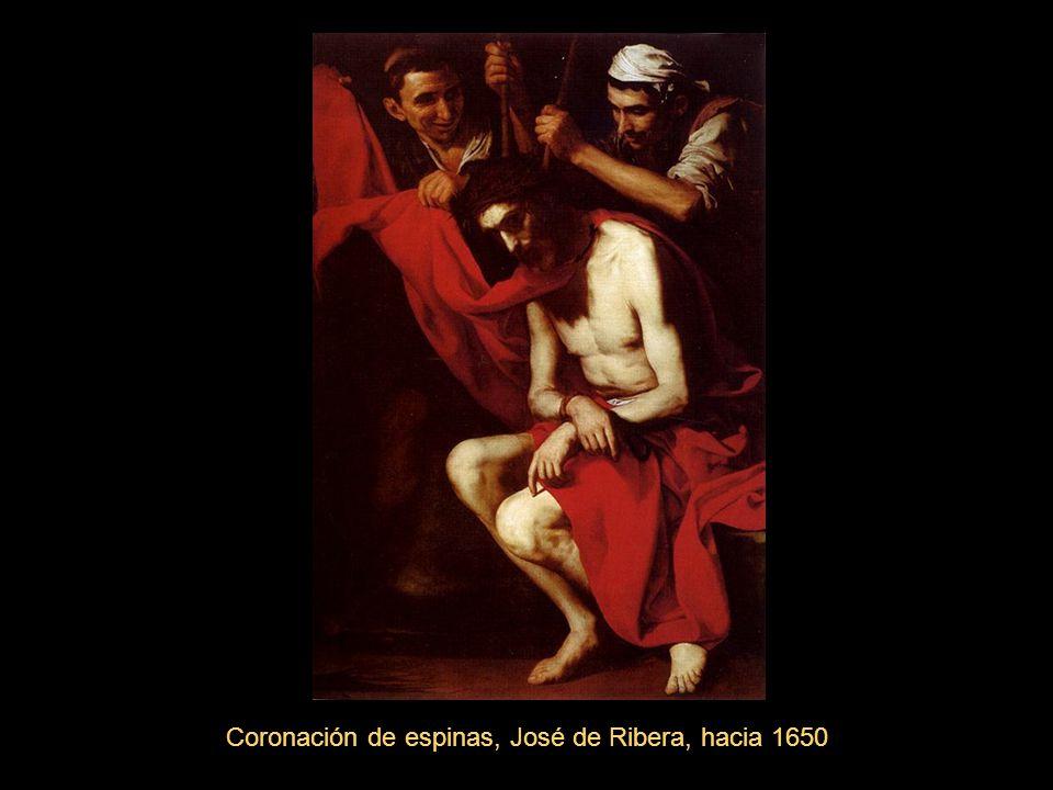 Coronación de espinas, José de Ribera, hacia 1650