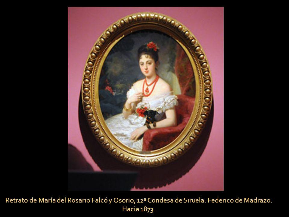 Retrato de María del Rosario Falcó y Osorio, 12ª Condesa de Siruela