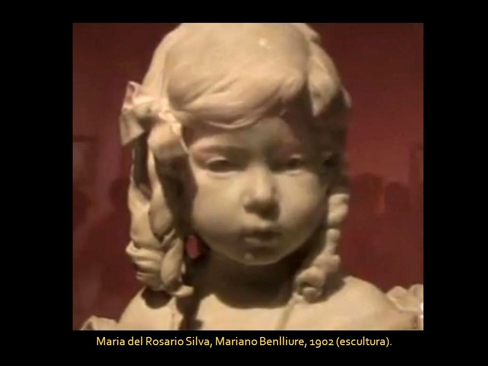 Maria del Rosario Silva, Mariano Benlliure, 1902 (escultura).