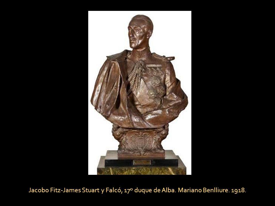 Jacobo Fitz-James Stuart y Falcó, 17º duque de Alba. Mariano Benlliure