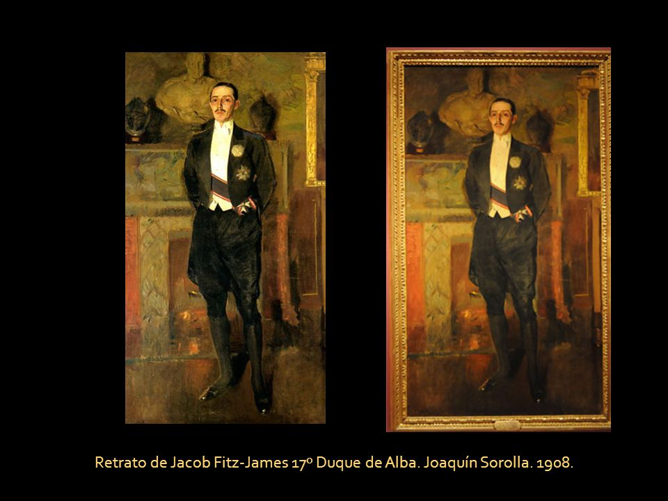 Retrato de Jacob Fitz-James 17º Duque de Alba. Joaquín Sorolla. 1908.