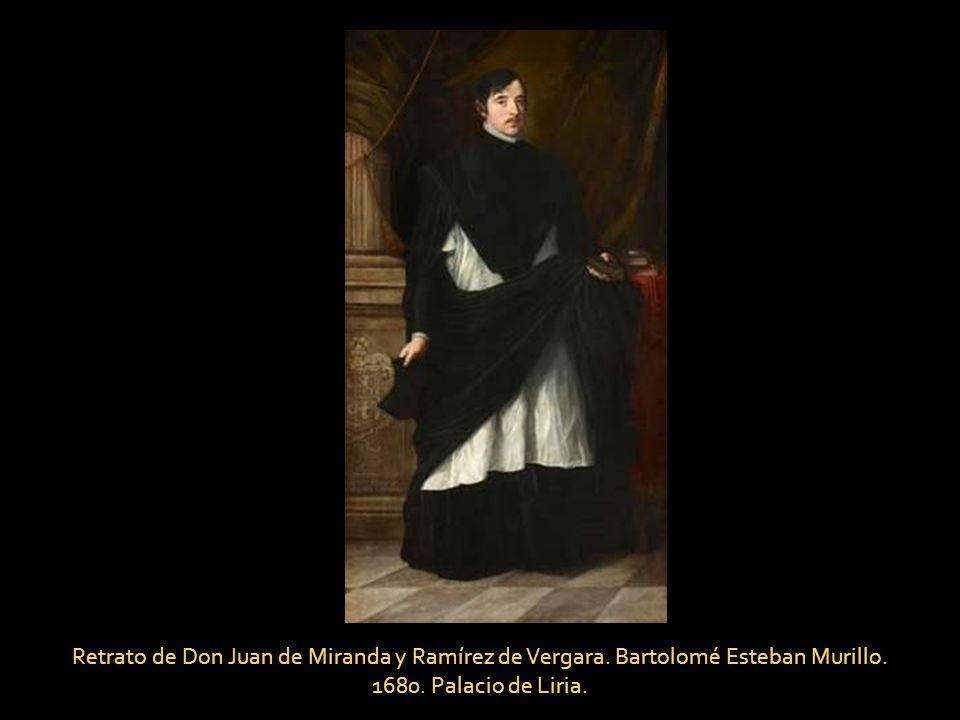 Retrato de Don Juan de Miranda y Ramírez de Vergara