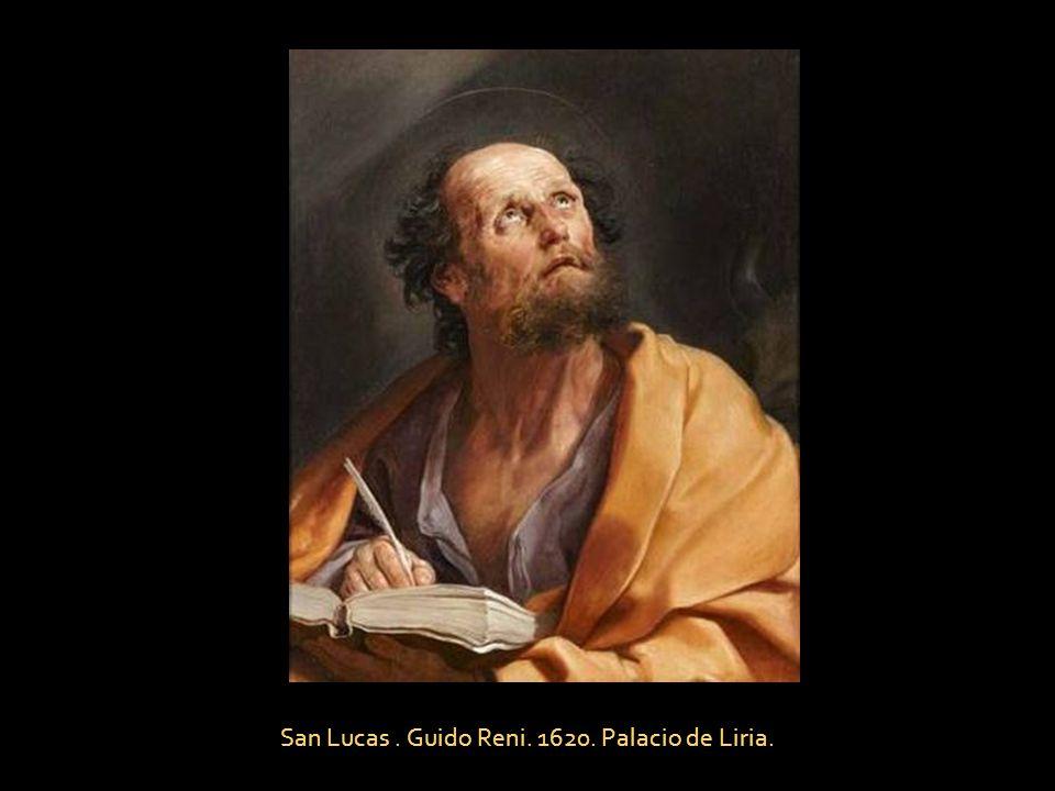 San Lucas . Guido Reni. 1620. Palacio de Liria.