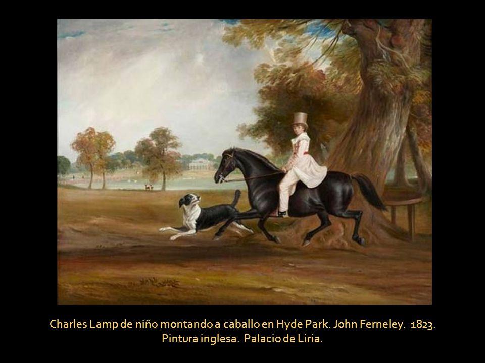 Pintura inglesa. Palacio de Liria.