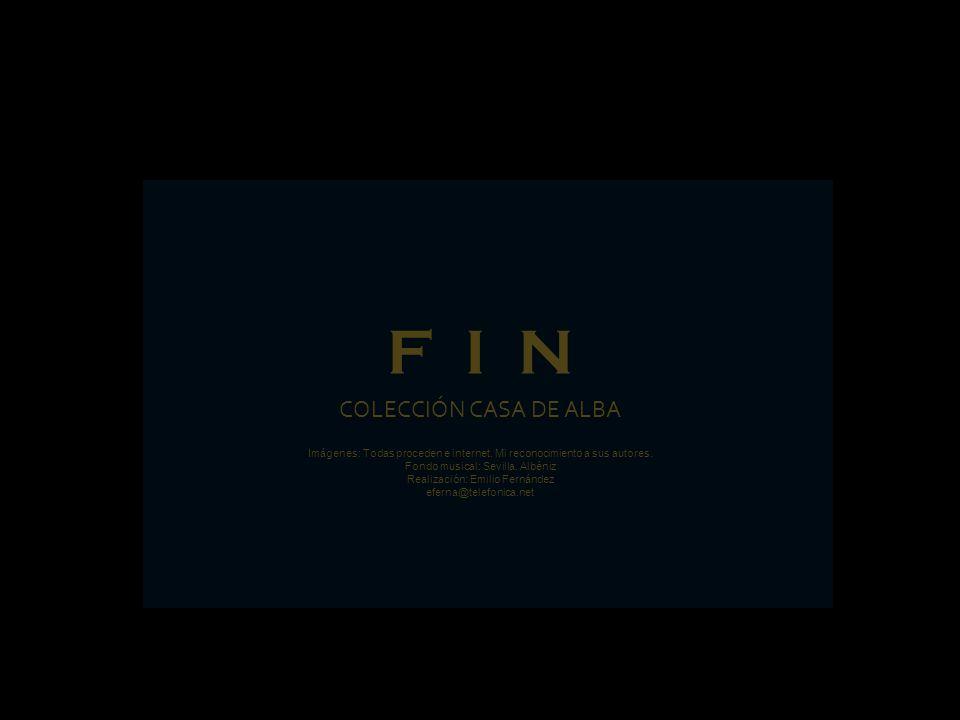 F I N COLECCIÓN CASA DE ALBA
