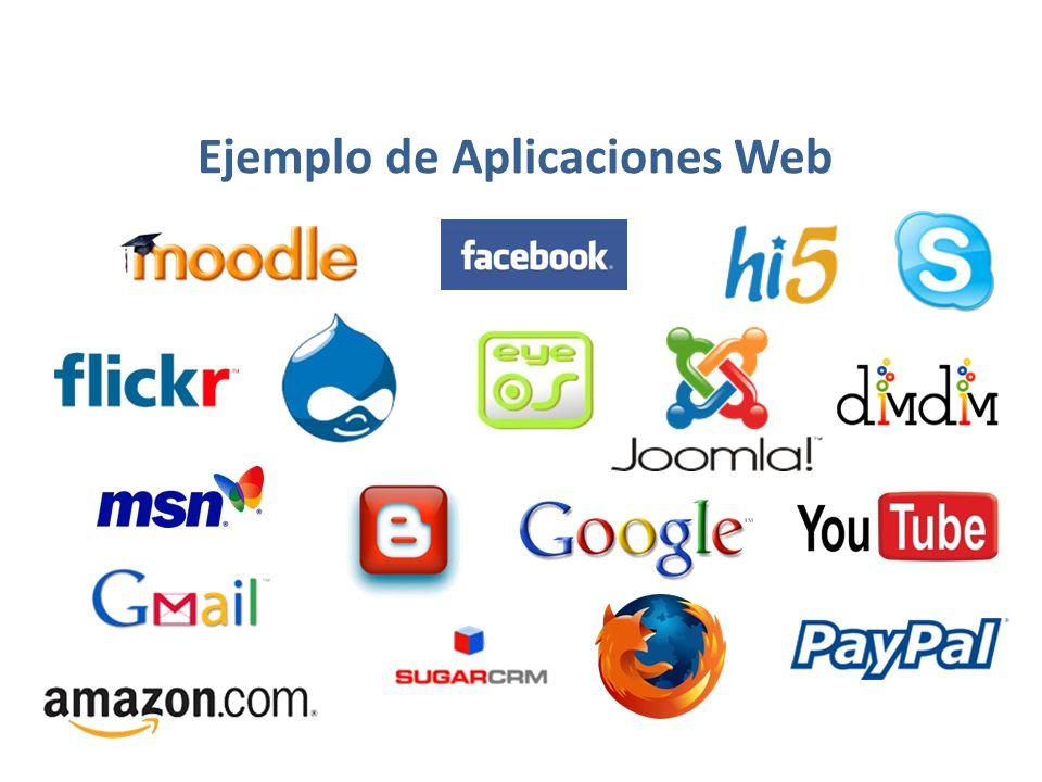 Ejemplo de Aplicaciones Web