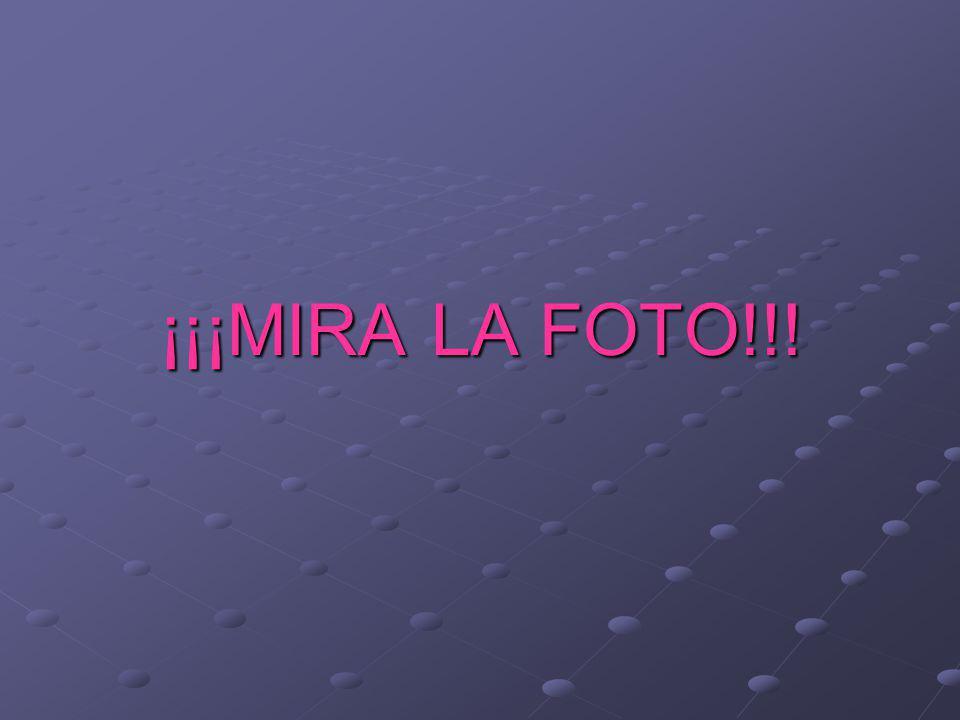 ¡¡¡MIRA LA FOTO!!!