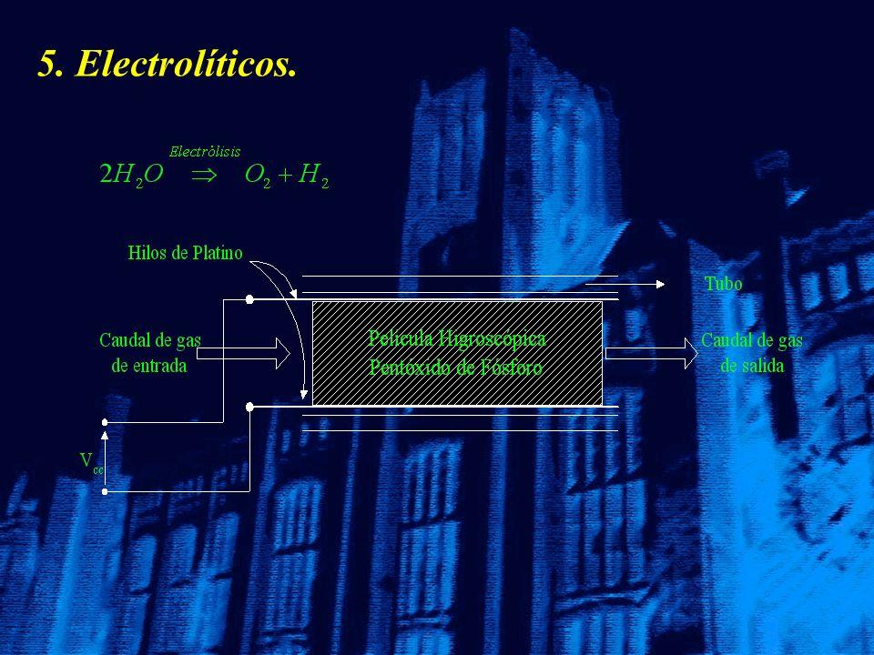 5. Electrolíticos.