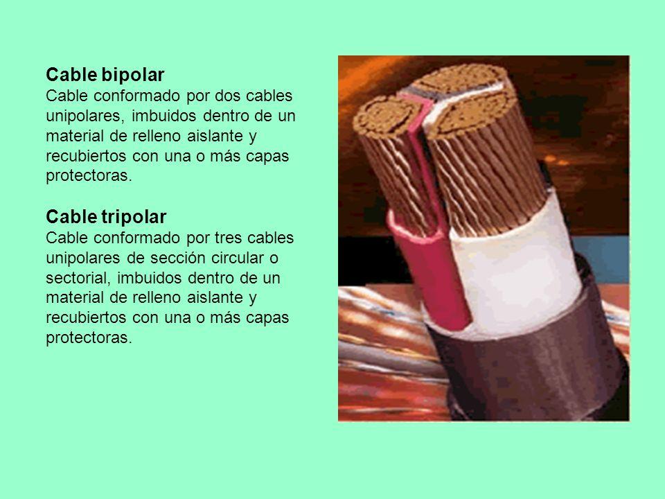 Cable bipolar Cable tripolar