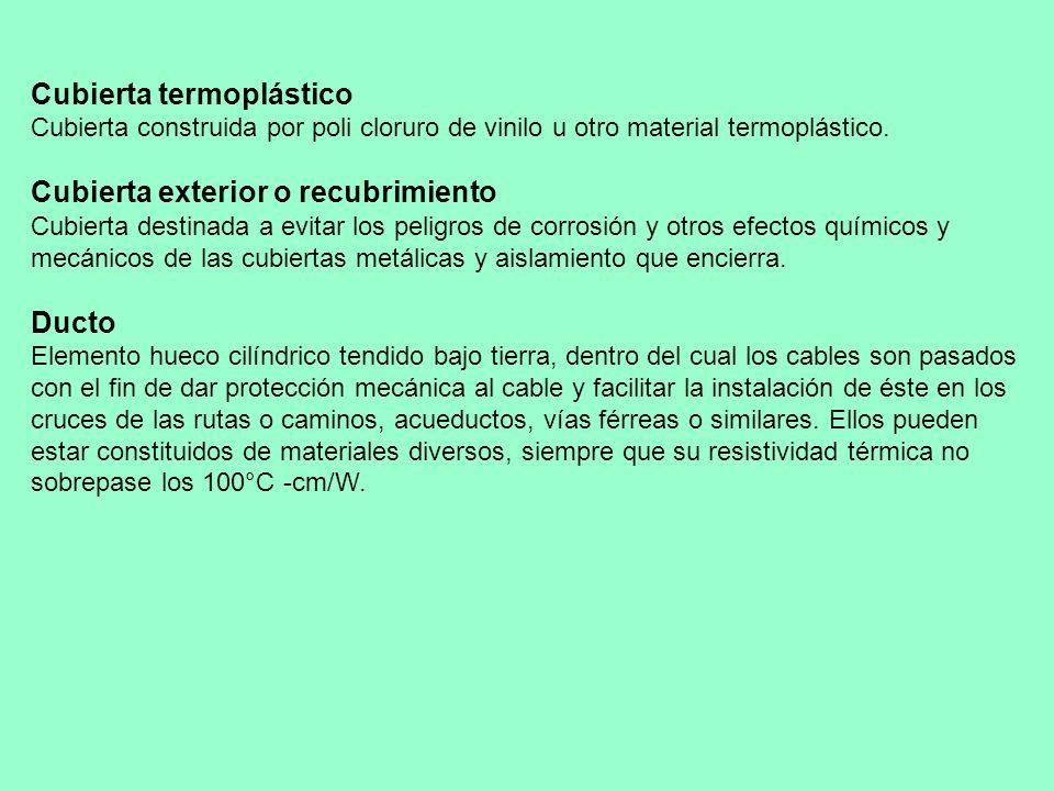 Cubierta termoplástico