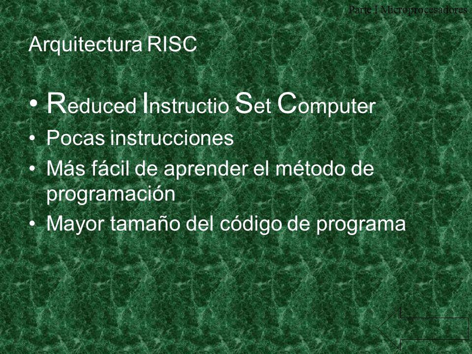 Reduced Instructio Set Computer