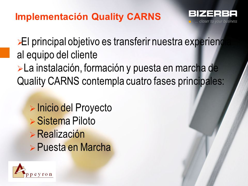 Implementación Quality CARNS