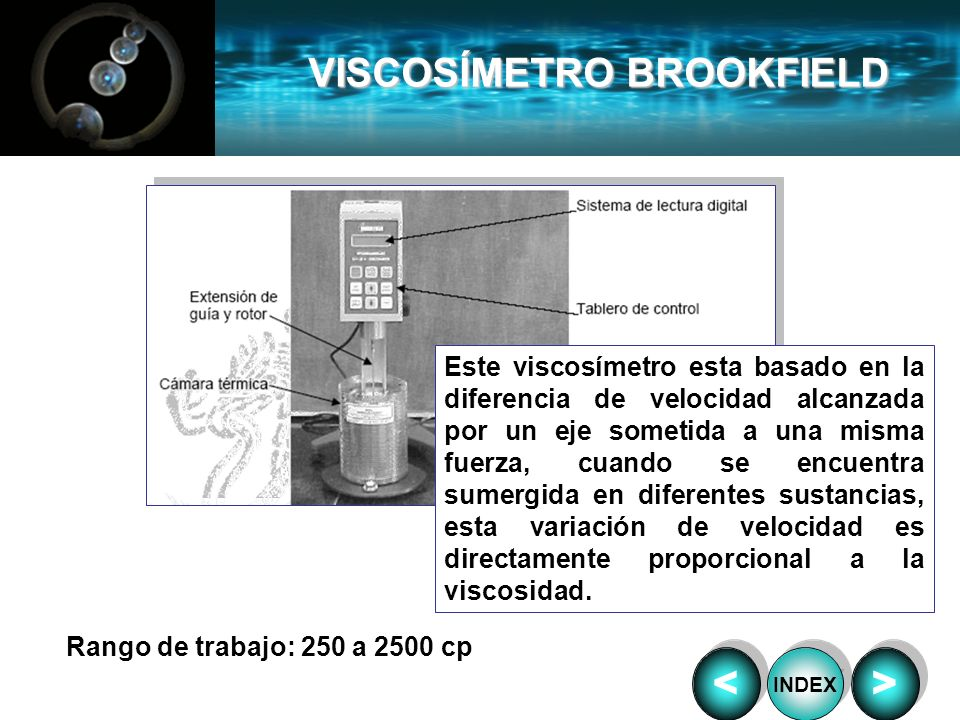 VISCOSÍMETRO BROOKFIELD