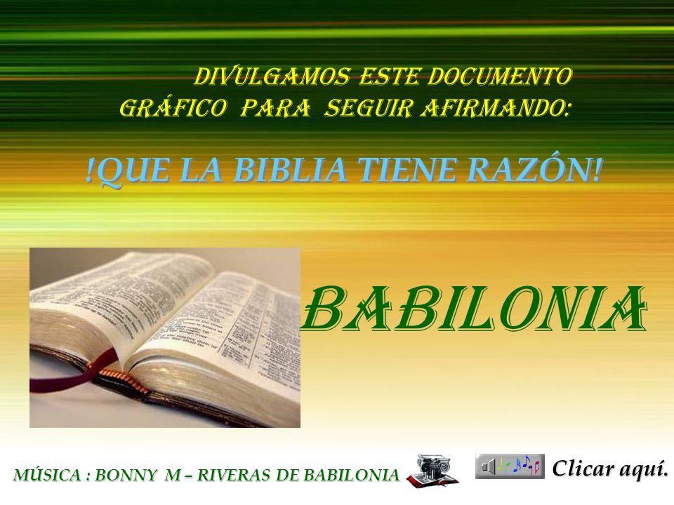 BABILONIA בבל העתיקה BABILONIA !QUE LA BIBLIA TIENE RAZÓN!