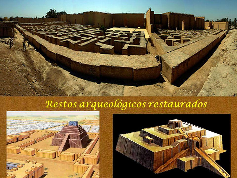 Restos arqueológicos restaurados