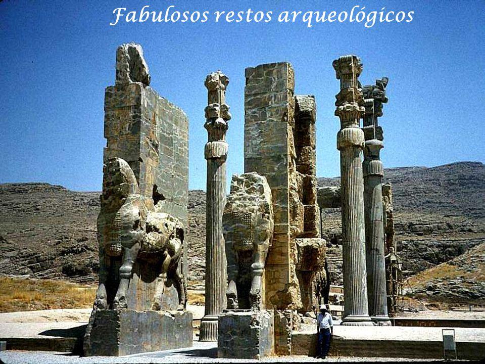 Fabulosos restos arqueológicos