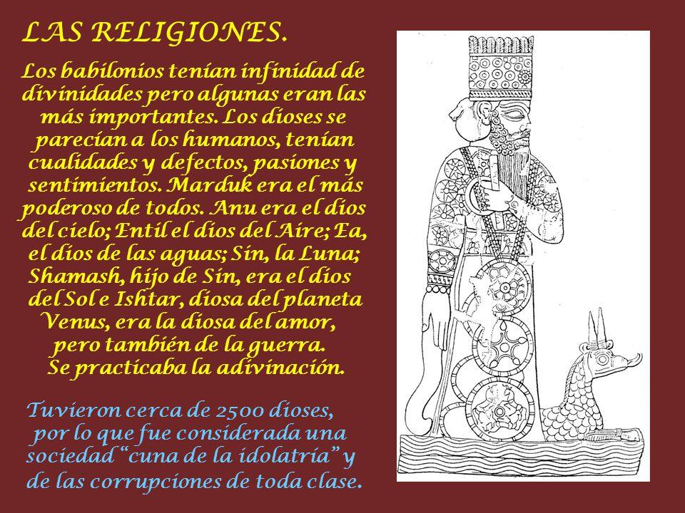 LAS RELIGIONES.