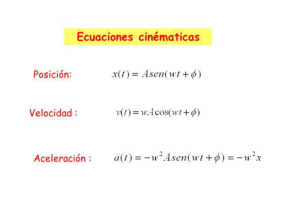 Ecuaciones cinématicas