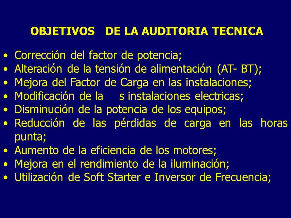OBJETIVOS DE LA AUDITORIA TECNICA