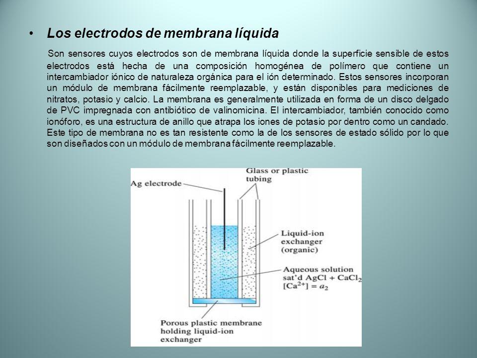 Los electrodos de membrana líquida