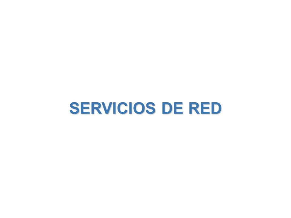SERVICIOS DE RED 26 / 38