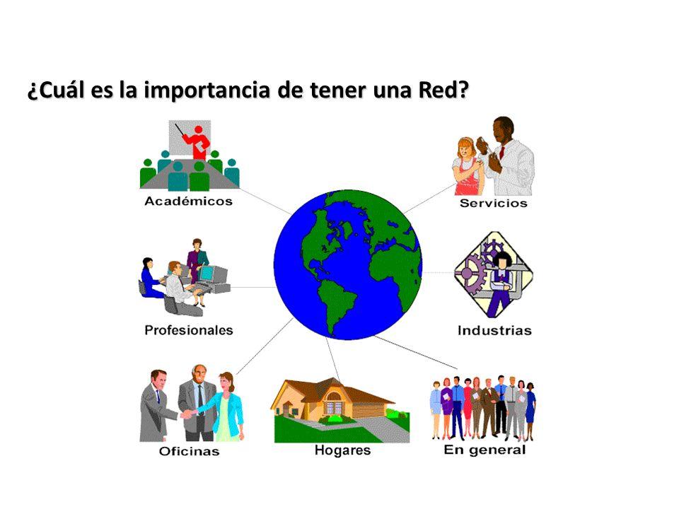 ¿Cuál es la importancia de tener una Red